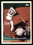 1994 Topps #218  Kevin McReynolds  Front Thumbnail