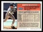1994 Topps #717  Mike Blowers  Back Thumbnail