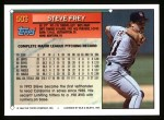 1994 Topps #503  Steve Frey  Back Thumbnail