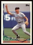 1994 Topps #351  Gary DiSarcina  Front Thumbnail