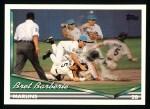 1994 Topps #132  Bret Barberie  Front Thumbnail