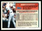 1994 Topps #701  Kevin Appier  Back Thumbnail