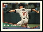 1994 Topps #308  Mike Trombley  Front Thumbnail