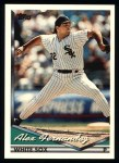 1994 Topps #599  Alex Fernandez  Front Thumbnail