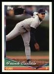 1994 Topps #399  Frank Castillo  Front Thumbnail