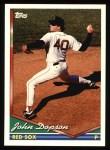 1994 Topps #321  John Dopson  Front Thumbnail