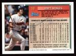 1994 Topps #59  Matt Nokes  Back Thumbnail