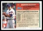 1994 Topps #35  Jose Guzman  Back Thumbnail