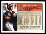 1994 Topps #442  Tony Tarasco  Back Thumbnail