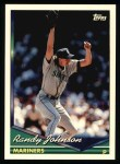 1994 Topps #290  Randy Johnson  Front Thumbnail