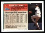 1994 Topps #31  Melido Perez  Back Thumbnail