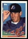 1994 Topps #524  Tim Laker  Front Thumbnail