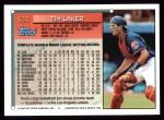 1994 Topps #524  Tim Laker  Back Thumbnail