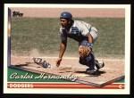 1994 Topps #353  Carlos Hernandez  Front Thumbnail