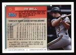 1994 Topps #15  Jay Bell  Back Thumbnail