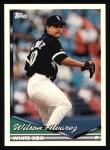 1994 Topps #299  Wilson Alvarez  Front Thumbnail