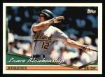 1994 Topps #17  Lance Blankenship  Front Thumbnail