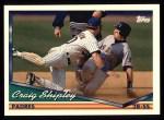 1994 Topps #184  Craig Shipley  Front Thumbnail