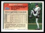 1994 Topps #37  Jeff Innis  Back Thumbnail
