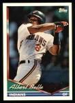 1994 Topps #480  Albert Belle  Front Thumbnail