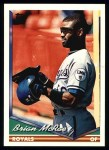 1994 Topps #425  Brian McRae  Front Thumbnail