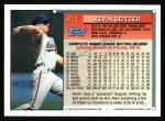 1994 Topps #411  Kevin Seitzer  Back Thumbnail