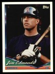 1994 Topps #404  Jim Edmonds  Front Thumbnail