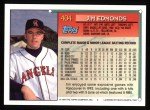 1994 Topps #404  Jim Edmonds  Back Thumbnail