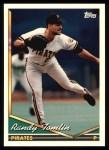 1994 Topps #338  Randy Tomlin  Front Thumbnail