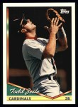 1994 Topps #25  Todd Zeile  Front Thumbnail