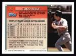 1994 Topps #25  Todd Zeile  Back Thumbnail