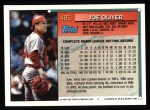 1994 Topps #485  Joe Oliver  Back Thumbnail