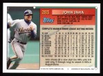 1994 Topps #283  John Jaha  Back Thumbnail