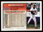 1994 Topps #420  Harold Baines  Back Thumbnail