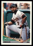1994 Topps #420  Harold Baines  Front Thumbnail