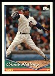1994 Topps #613  Chuck McElroy  Front Thumbnail
