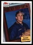 1994 Topps #756  Casey Whitten  Front Thumbnail