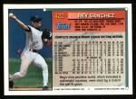1994 Topps #422  Rey Sanchez  Back Thumbnail