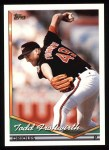 1994 Topps #242  Todd Frohwirth  Front Thumbnail