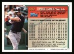1994 Topps #502  Mike Greenwell  Back Thumbnail