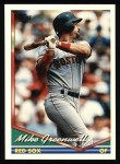 1994 Topps #502  Mike Greenwell  Front Thumbnail