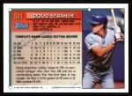 1994 Topps #591  Doug Strange  Back Thumbnail