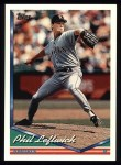1994 Topps #471  Phil Leftwich  Front Thumbnail