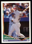 1994 Topps #302  Howard Johnson  Front Thumbnail