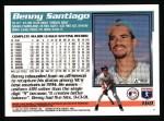 1995 Topps #160  Benito Santiago  Back Thumbnail