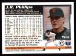 1995 Topps #590  J.R. Phillips  Back Thumbnail