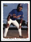1995 Topps #315  Marquis Grissom  Front Thumbnail