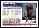 1995 Topps #61  Mike Kelly  Back Thumbnail