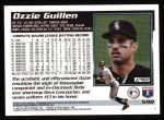 1995 Topps #598  Ozzie Guillen  Back Thumbnail