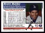 1995 Topps #610  Brett Butler  Back Thumbnail